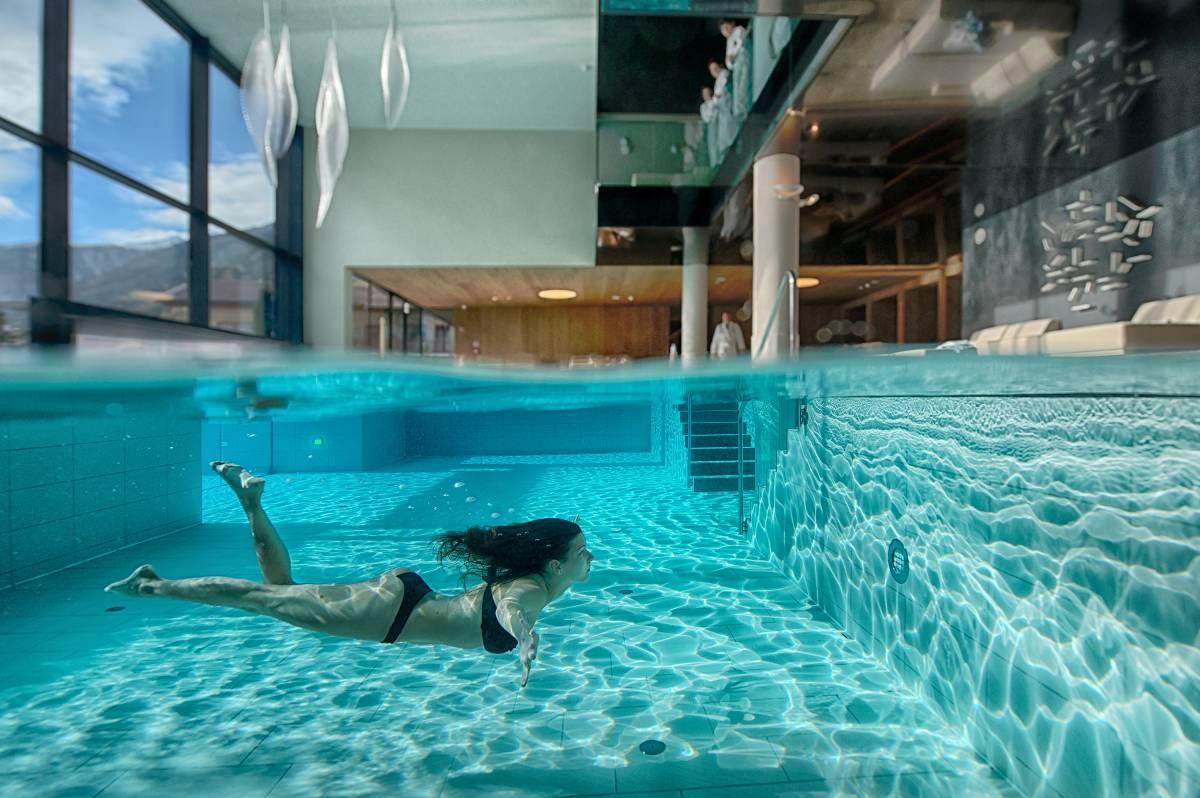 Hotel benessere con spa piscine e saune in alto adige amonti lunaris - Hotel con piscina riscaldata montagna ...