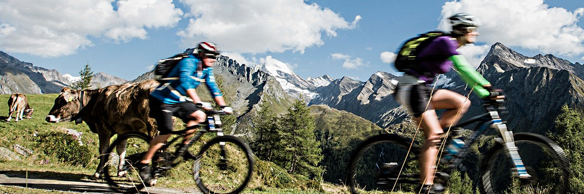 Mountainbiking Italian Alps