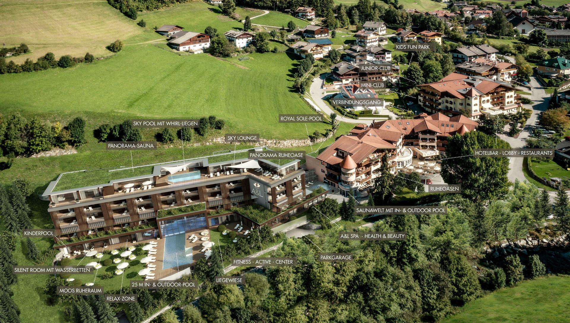 Thumbnail for Das 4 Sterne Superior ALPENSCHLÖSSL & LINDERHOF Wellnesshotel in Südtirol, Alpenschlössl & Linderhof